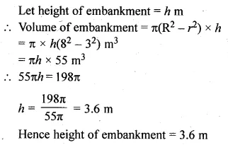 ML Aggarwal Class 10 Solutions for ICSE Maths Chapter 17 Mensuration Ex 17.5 15