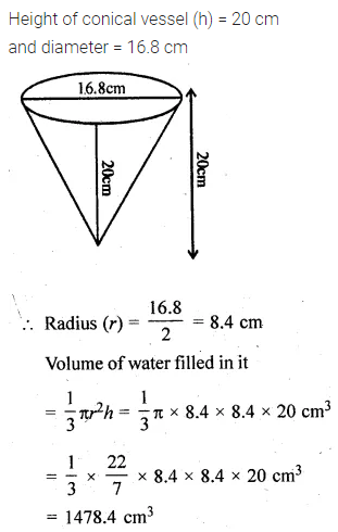 ML Aggarwal Class 10 Solutions for ICSE Maths Chapter 17 Mensuration Ex 17.5 18