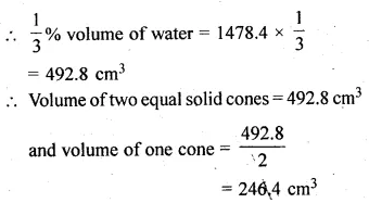 ML Aggarwal Class 10 Solutions for ICSE Maths Chapter 17 Mensuration Ex 17.5 19