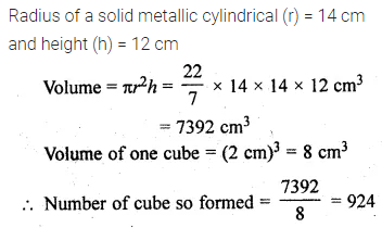 ML Aggarwal Class 10 Solutions for ICSE Maths Chapter 17 Mensuration Ex 17.5 20