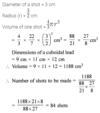 ML Aggarwal Class 10 Solutions for ICSE Maths Chapter 17 Mensuration Ex 17.5 21
