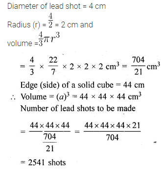 ML Aggarwal Class 10 Solutions for ICSE Maths Chapter 17 Mensuration Ex 17.5 22
