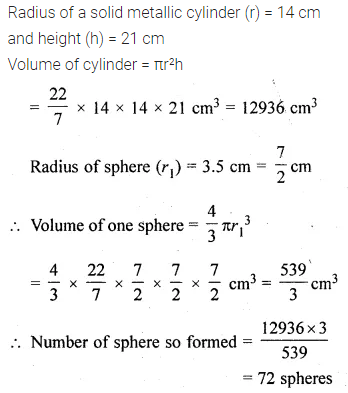 ML Aggarwal Class 10 Solutions for ICSE Maths Chapter 17 Mensuration Ex 17.5 24