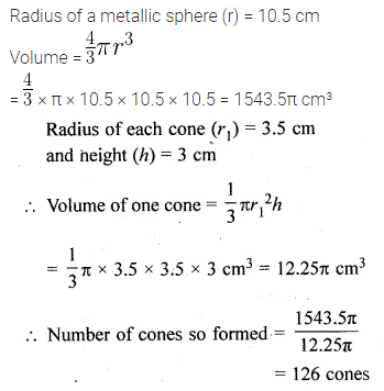 ML Aggarwal Class 10 Solutions for ICSE Maths Chapter 17 Mensuration Ex 17.5 25