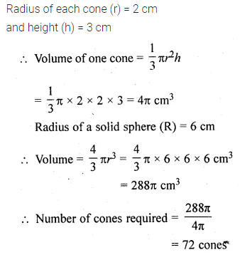 ML Aggarwal Class 10 Solutions for ICSE Maths Chapter 17 Mensuration Ex 17.5 26