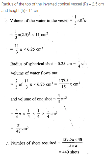 ML Aggarwal Class 10 Solutions for ICSE Maths Chapter 17 Mensuration Ex 17.5 27