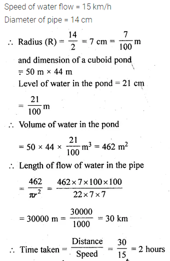 ML Aggarwal Class 10 Solutions for ICSE Maths Chapter 17 Mensuration Ex 17.5 31