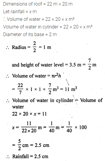 ML Aggarwal Class 10 Solutions for ICSE Maths Chapter 17 Mensuration Ex 17.5 5