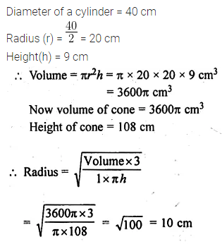 ML Aggarwal Class 10 Solutions for ICSE Maths Chapter 17 Mensuration Ex 17.5 6