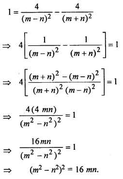 ML Aggarwal Class 10 Solutions for ICSE Maths Chapter 18 Trigonometric Identities Chapter Test 27