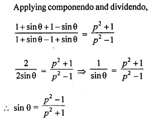ML Aggarwal Class 10 Solutions for ICSE Maths Chapter 18 Trigonometric Identities Chapter Test 29