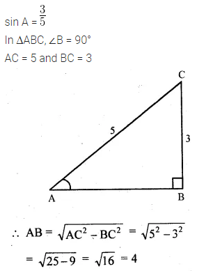 ML Aggarwal Class 10 Solutions for ICSE Maths Chapter 18 Trigonometric Identities Ex 18 1