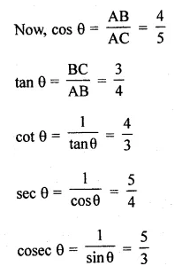 ML Aggarwal Class 10 Solutions for ICSE Maths Chapter 18 Trigonometric Identities Ex 18 2