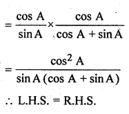 ML Aggarwal Class 10 Solutions for ICSE Maths Chapter 18 Trigonometric Identities Ex 18 32