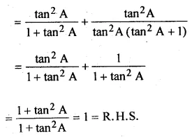 ML Aggarwal Class 10 Solutions for ICSE Maths Chapter 18 Trigonometric Identities Ex 18 53