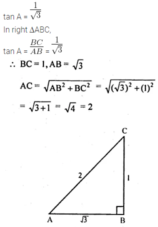 ML Aggarwal Class 10 Solutions for ICSE Maths Chapter 18 Trigonometric Identities Ex 18 6