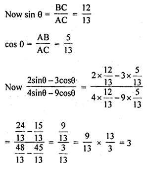 ML Aggarwal Class 10 Solutions for ICSE Maths Chapter 18 Trigonometric Identities Ex 18 9