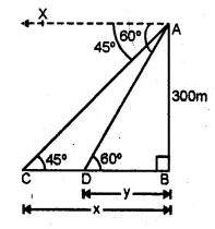 ML Aggarwal Class 10 Solutions for ICSE Maths Chapter 20 Heights and Distances Ex 20 33