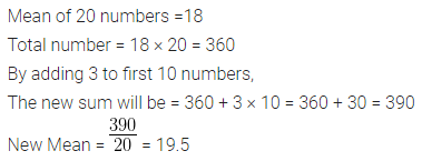 ML Aggarwal Class 10 Solutions for ICSE Maths Chapter 21 Measures of Central Tendency Chapter Test 2