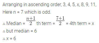 ML Aggarwal Class 10 Solutions for ICSE Maths Chapter 21 Measures of Central Tendency Chapter Test 26