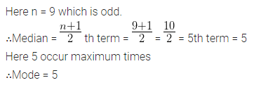 ML Aggarwal Class 10 Solutions for ICSE Maths Chapter 21 Measures of Central Tendency Chapter Test 29