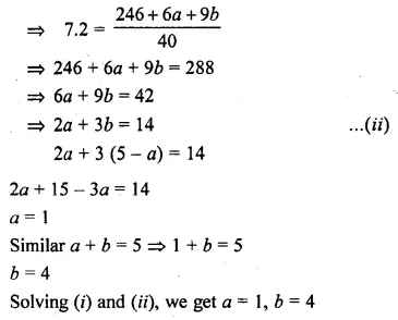 ML Aggarwal Class 10 Solutions for ICSE Maths Chapter 21 Measures of Central Tendency Ex 21.1 25