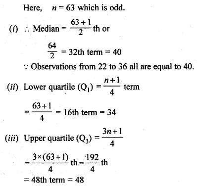 ML Aggarwal Class 10 Solutions for ICSE Maths Chapter 21 Measures of Central Tendency Ex 21.2 19