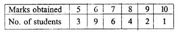 ML Aggarwal Class 10 Solutions for ICSE Maths Chapter 21 Measures of Central Tendency Ex 21.3 12