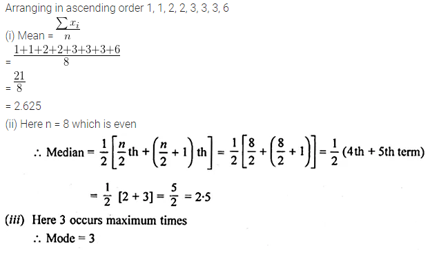 ML Aggarwal Class 10 Solutions for ICSE Maths Chapter 21 Measures of Central Tendency Ex 21.3 2