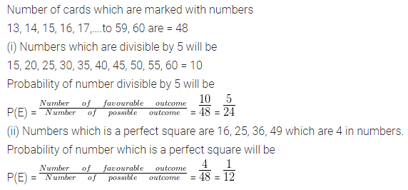 ML Aggarwal Class 10 Solutions for ICSE Maths Chapter 22 Probability Chapter Test 11