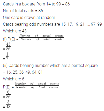 ML Aggarwal Class 10 Solutions for ICSE Maths Chapter 22 Probability Chapter Test 12