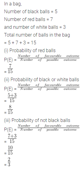 ML Aggarwal Class 10 Solutions for ICSE Maths Chapter 22 Probability Ex 22 11