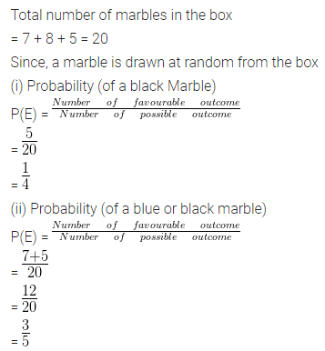 ML Aggarwal Class 10 Solutions for ICSE Maths Chapter 22 Probability Ex 22 12