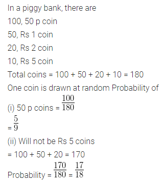 ML Aggarwal Class 10 Solutions for ICSE Maths Chapter 22 Probability Ex 22 16