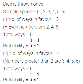 ML Aggarwal Class 10 Solutions for ICSE Maths Chapter 22 Probability Ex 22 18