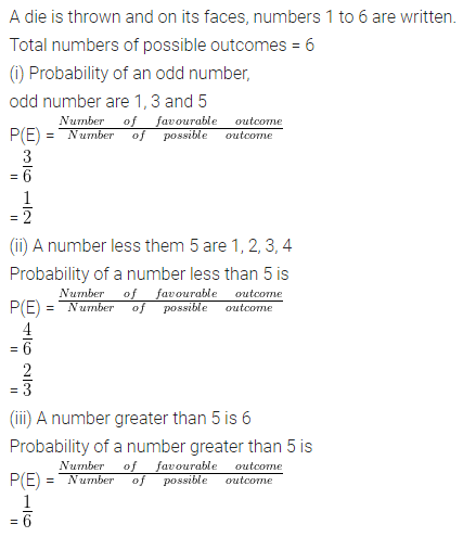 ML Aggarwal Class 10 Solutions for ICSE Maths Chapter 22 Probability Ex 22 19