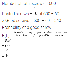 ML Aggarwal Class 10 Solutions for ICSE Maths Chapter 22 Probability Ex 22 2