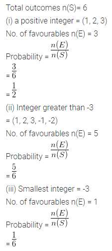 ML Aggarwal Class 10 Solutions for ICSE Maths Chapter 22 Probability Ex 22 23