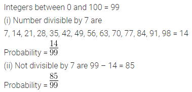 ML Aggarwal Class 10 Solutions for ICSE Maths Chapter 22 Probability Ex 22 29