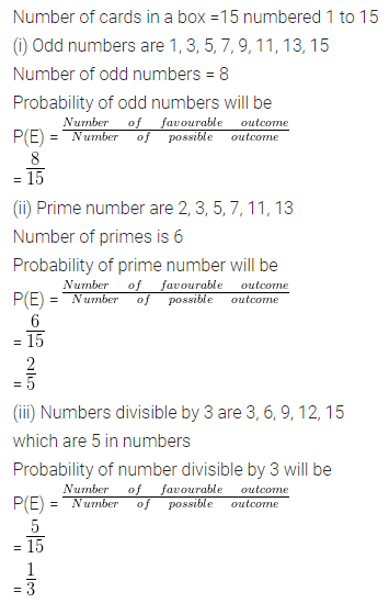 ML Aggarwal Class 10 Solutions for ICSE Maths Chapter 22 Probability Ex 22 32