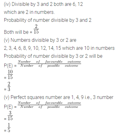 ML Aggarwal Class 10 Solutions for ICSE Maths Chapter 22 Probability Ex 22 33