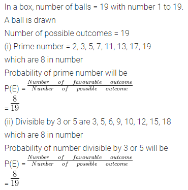ML Aggarwal Class 10 Solutions for ICSE Maths Chapter 22 Probability Ex 22 34