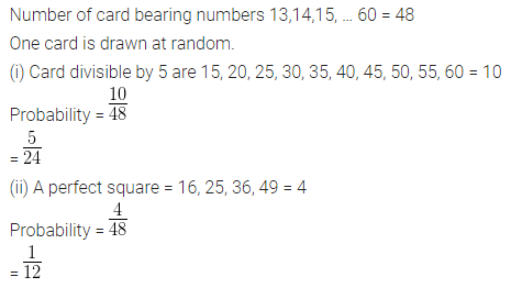 ML Aggarwal Class 10 Solutions for ICSE Maths Chapter 22 Probability Ex 22 36