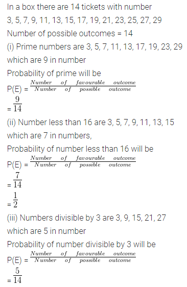 ML Aggarwal Class 10 Solutions for ICSE Maths Chapter 22 Probability Ex 22 37