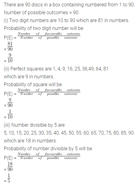 ML Aggarwal Class 10 Solutions for ICSE Maths Chapter 22 Probability Ex 22 38