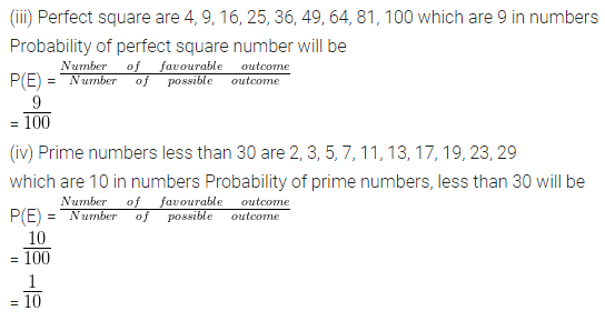ML Aggarwal Class 10 Solutions for ICSE Maths Chapter 22 Probability Ex 22 40