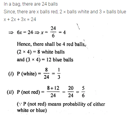 ML Aggarwal Class 10 Solutions for ICSE Maths Chapter 22 Probability Ex 22 43