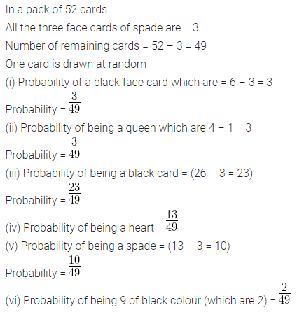 ML Aggarwal Class 10 Solutions for ICSE Maths Chapter 22 Probability Ex 22 48