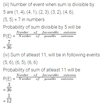 ML Aggarwal Class 10 Solutions for ICSE Maths Chapter 22 Probability Ex 22 54