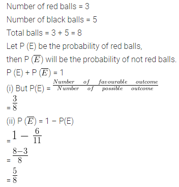 ML Aggarwal Class 10 Solutions for ICSE Maths Chapter 22 Probability Ex 22 7